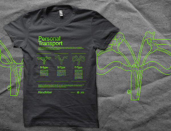 Kaos Sepeda URBN Brompton T-shirt