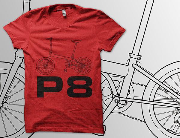 Kaos Sepeda URBN Speed P8 T-shirt
