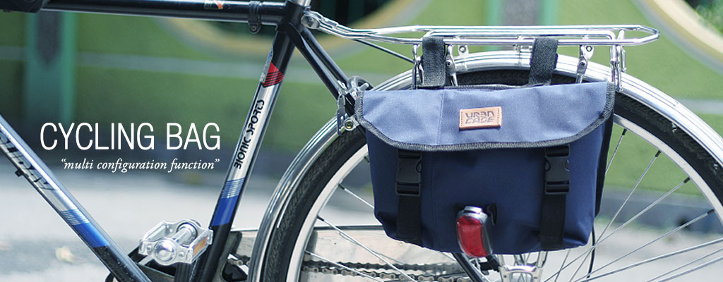 URBNCASE cycling messenger bag urbn