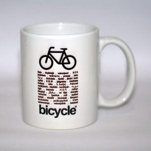gelas sepeda URBNCASE bicycle world mug