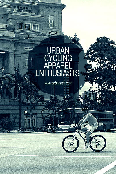 "URBNCASE ""urban cycling apparel enthusiasts"""