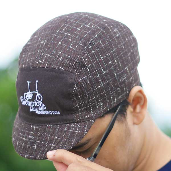 Topi sepeda urbncase-brompton-day-out-bandung-cycling-cap2