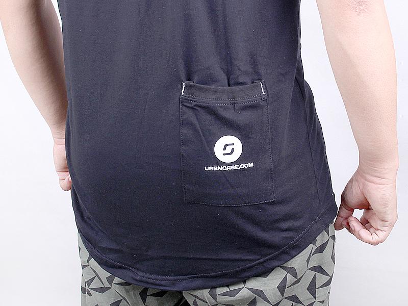URBNCASE_brompton logo black tshirt back pocket