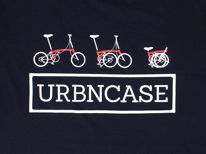 URBNCASE_brompton logo black tshirt front details