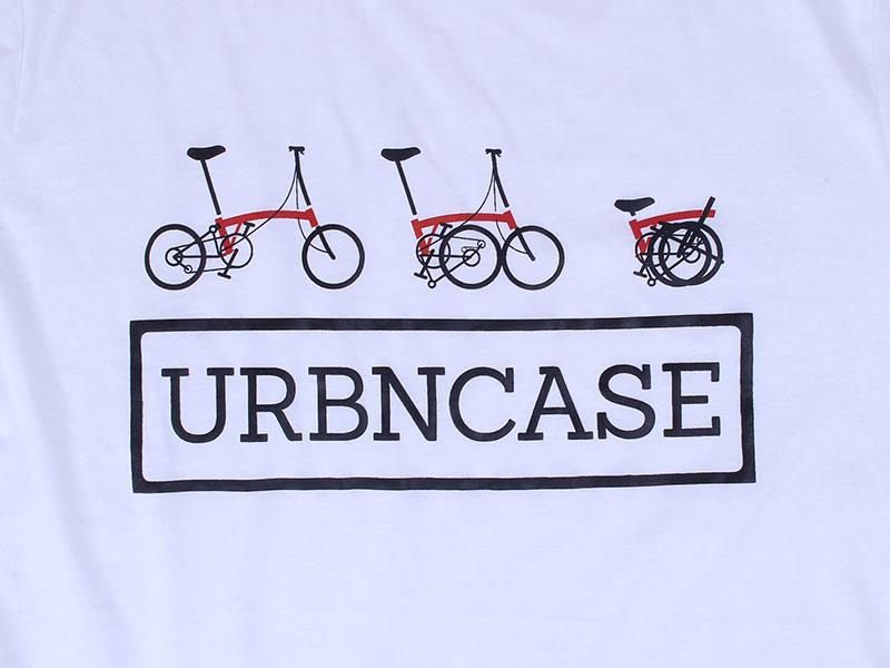 URBNCASE_Brompton logo white tshirt front details