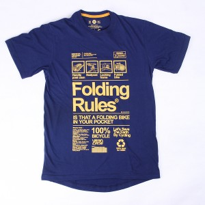 URBNCASE_folding bike rules dahon tshirt_front2