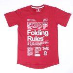 URBNCASE_foldingbike rules maroon tshirt detail