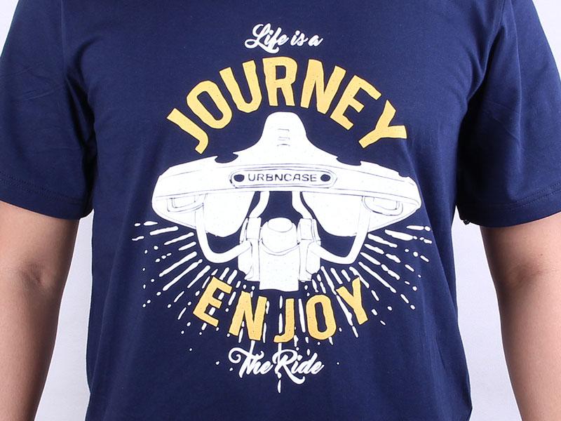 URBNCASE_sadle journey darkblue tshirt front detail