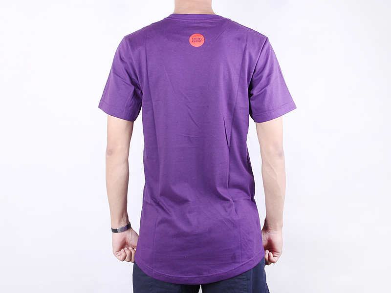URBNCASE brompton tshirt made for cities purple back
