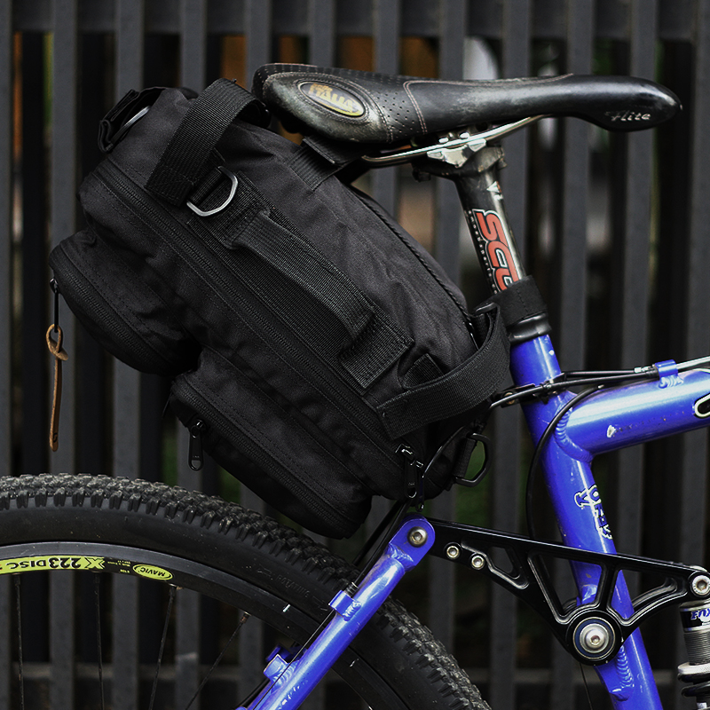 seat post bag bicycle