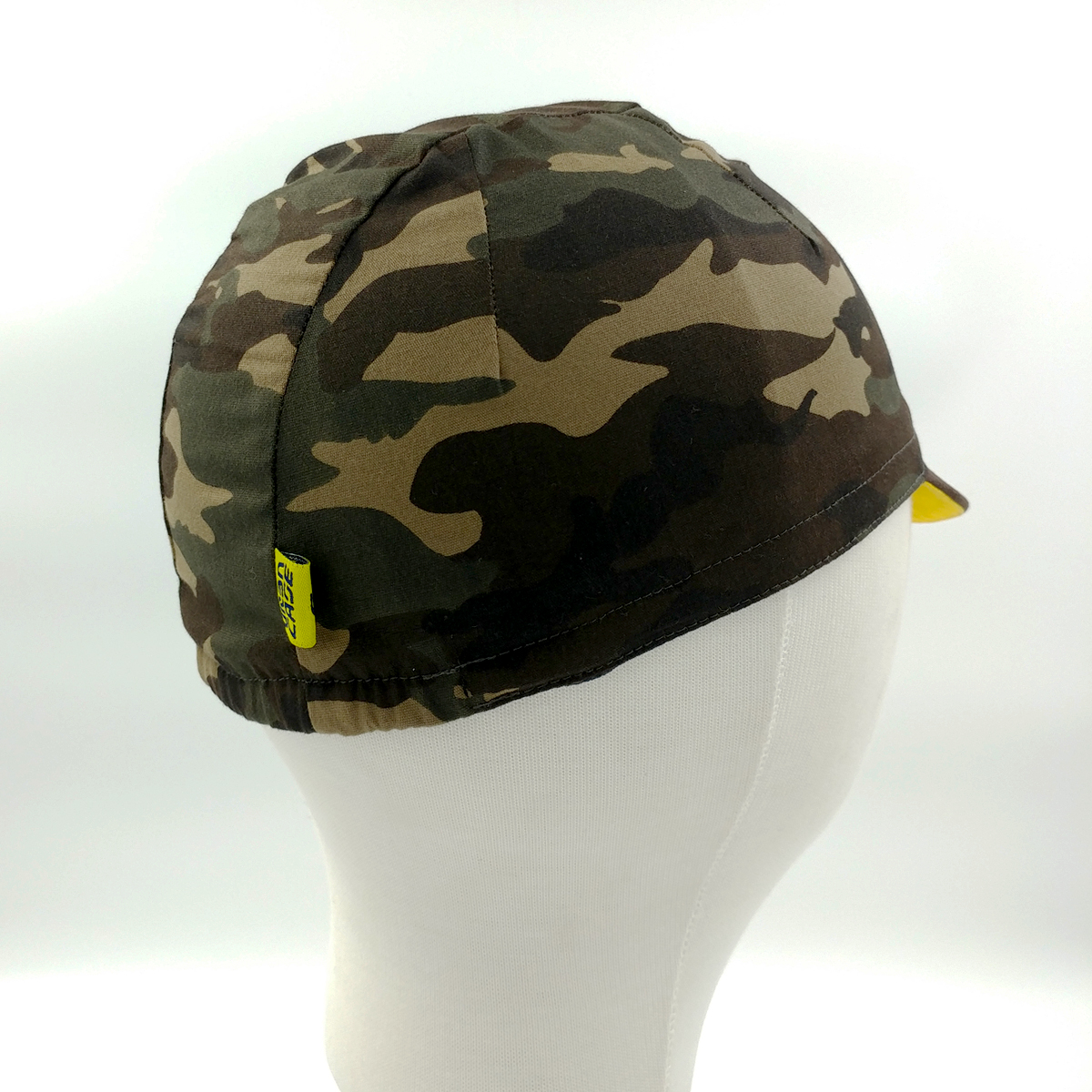 cycling cap - camo3panel3