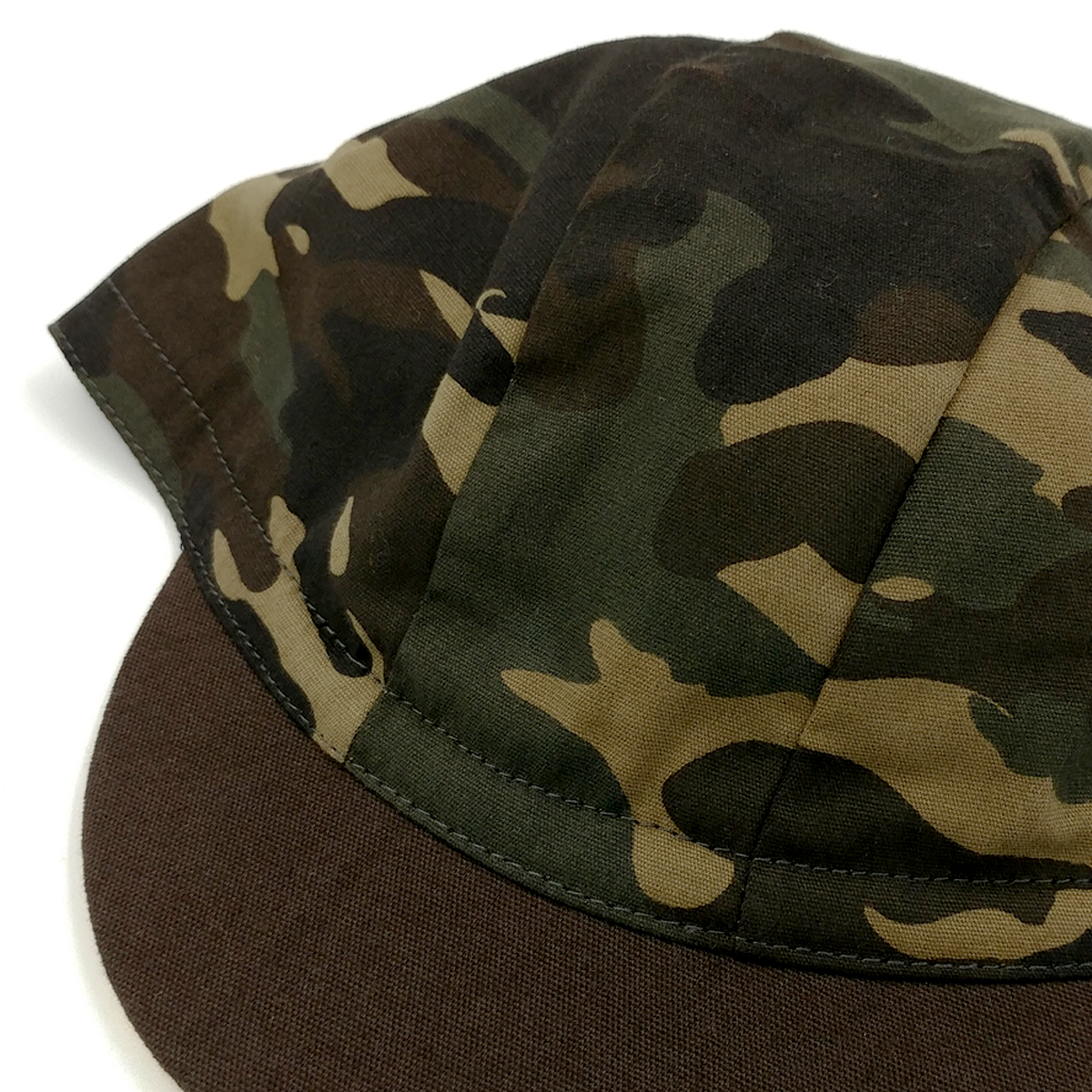 cycling cap - camo3panel4