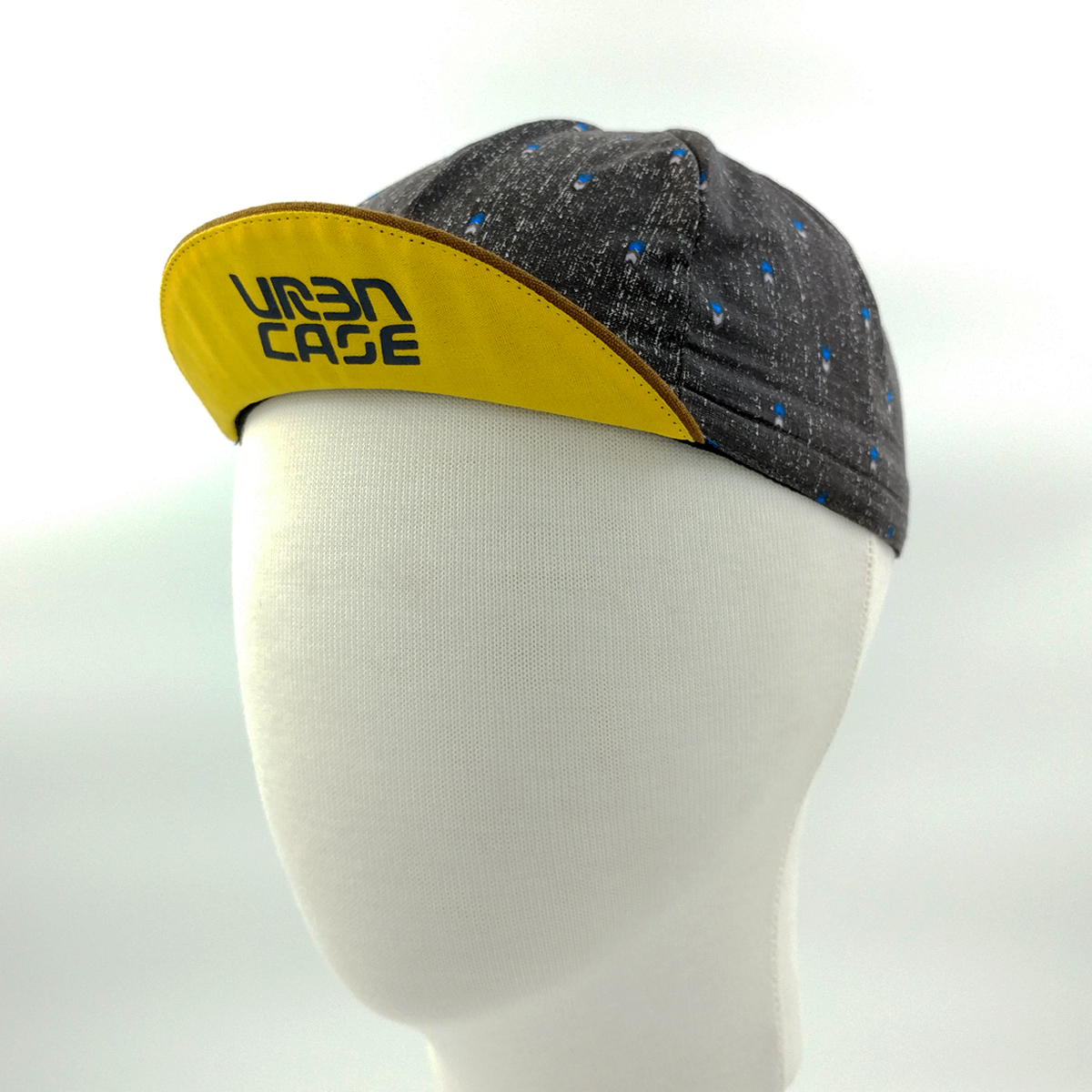 cycling cap - greyclue3