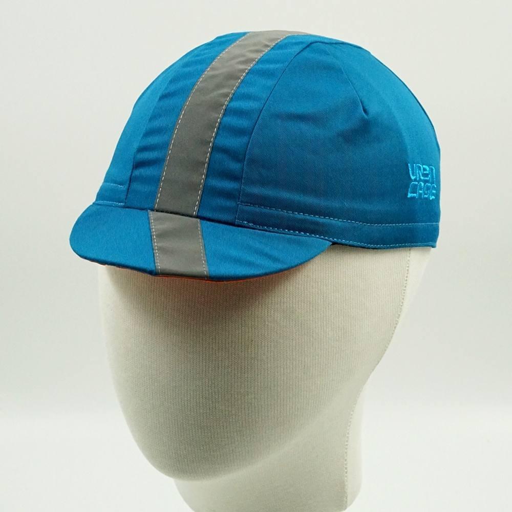 Cycling cap reflective URBNCASE blue 1