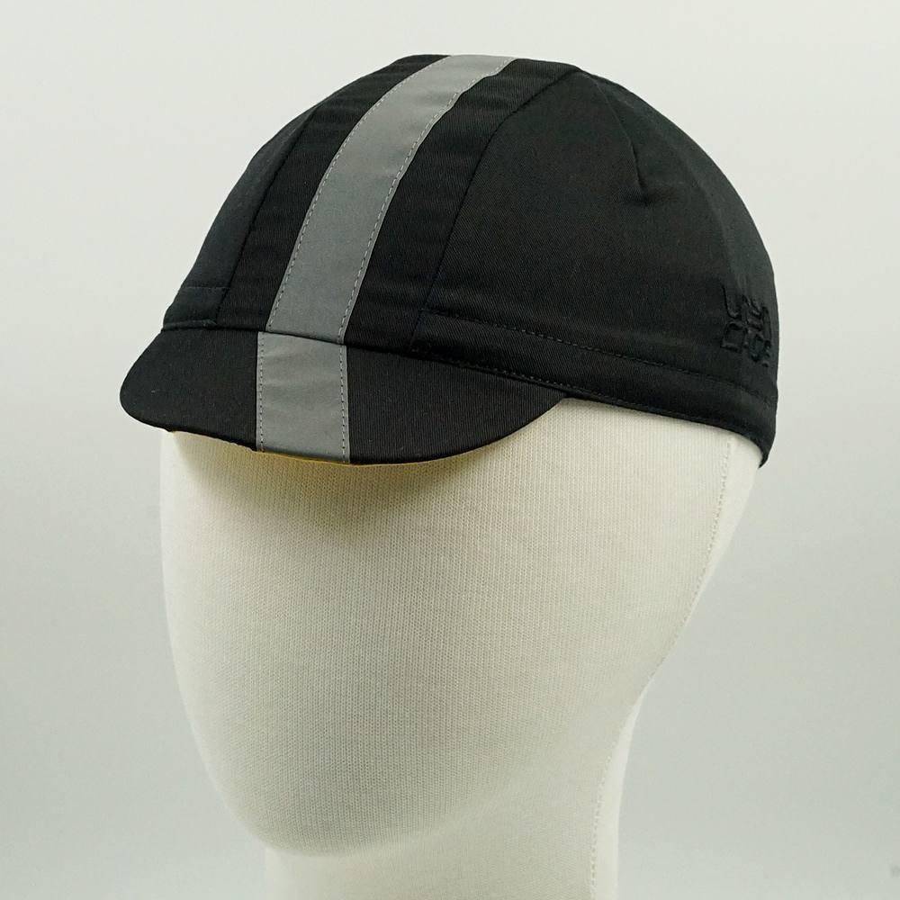 Cycling caps reflective URBNCASE Black 1