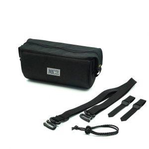 Black Tubularwing Bag (bar or saddle bag)