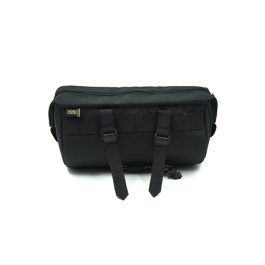 Black Tubularwing Bag (bar or saddle bag) back