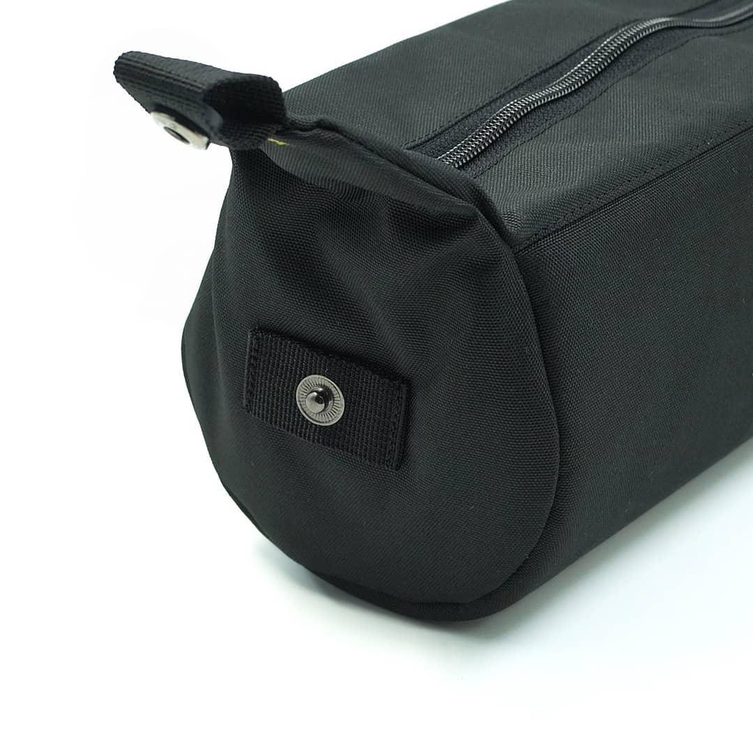 Black Tubularwing Bag (bar or saddle bag) detail