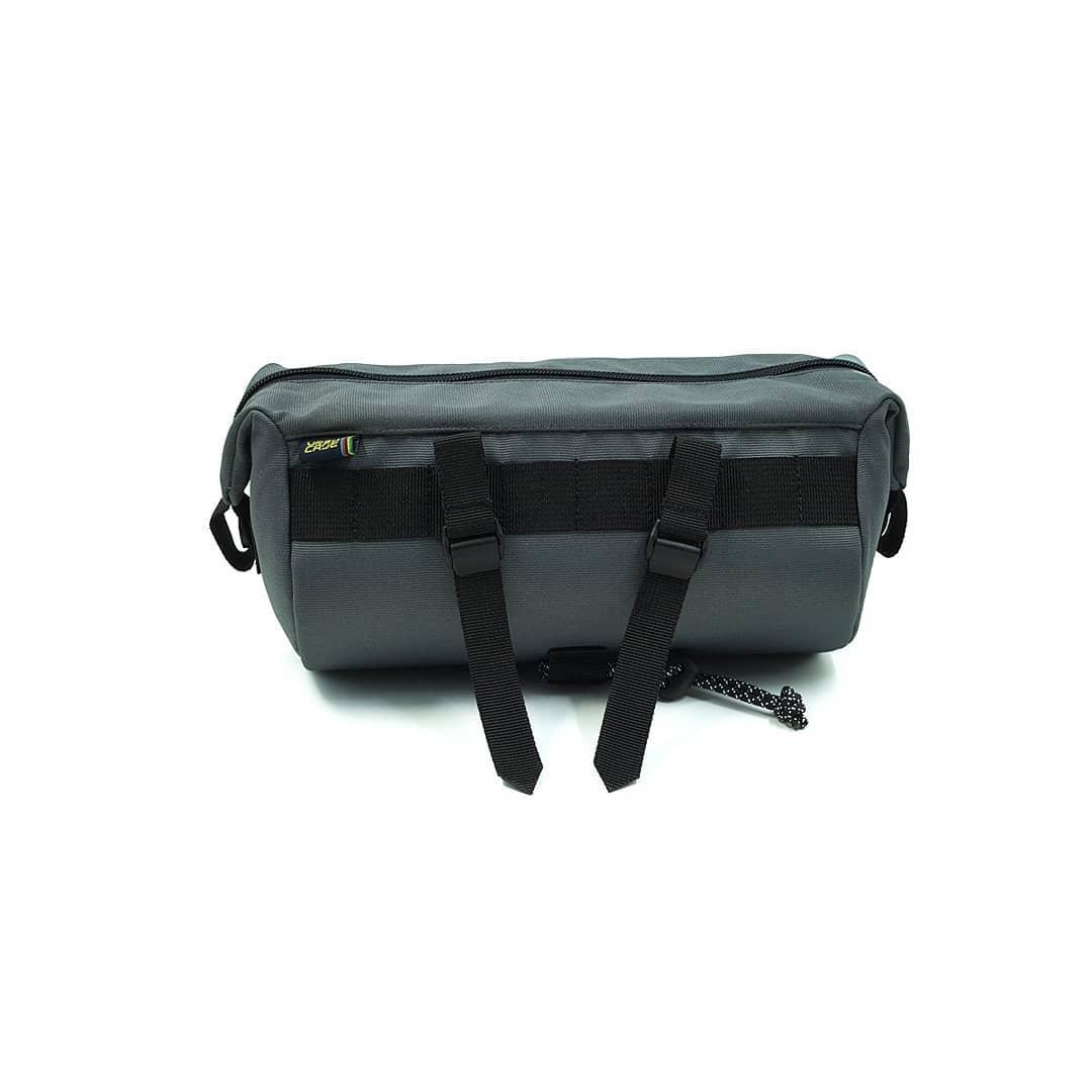 Grey Tubularwing Bag (barsaddle bag) back