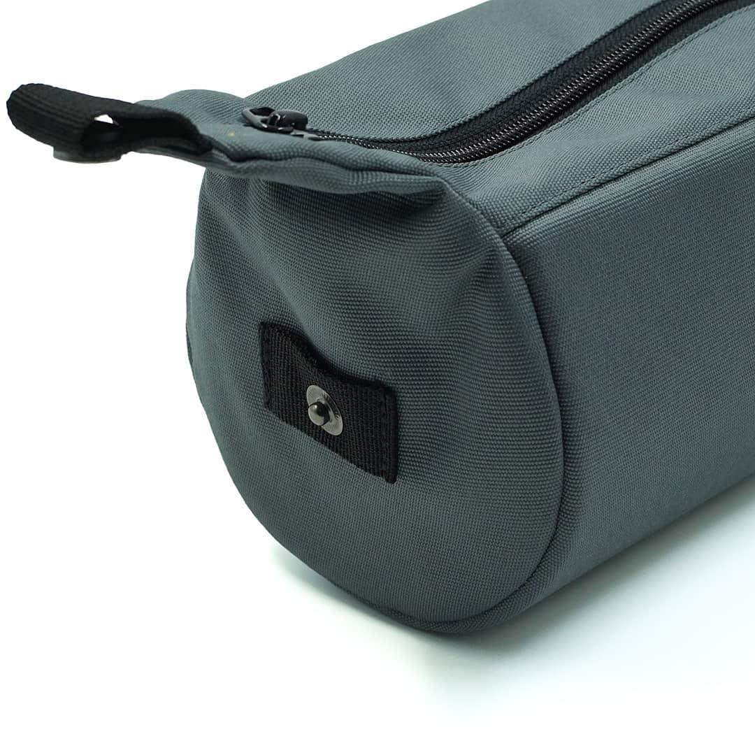 Grey Tubularwing Bag (barsaddle bag) detail