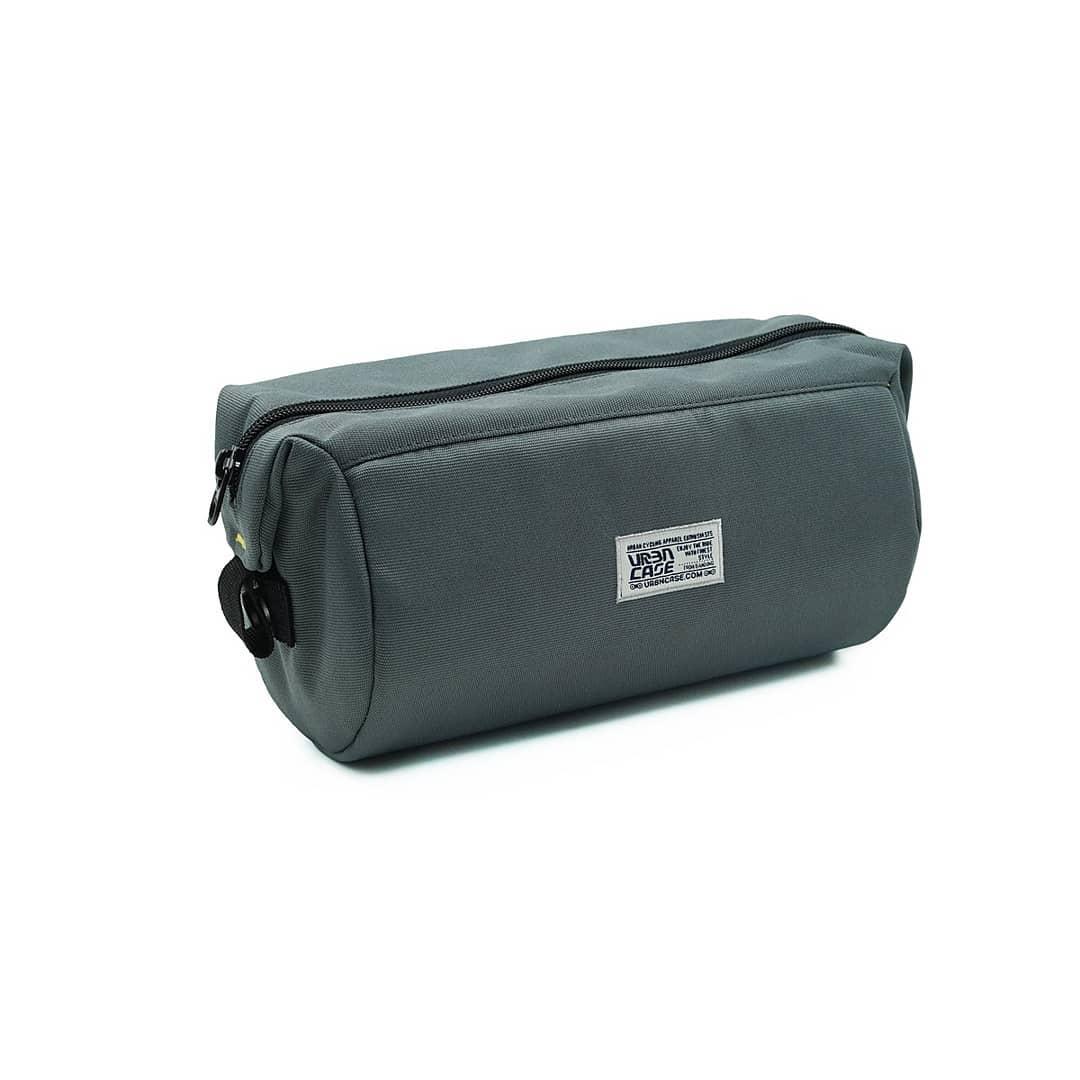 Grey Tubularwing Bag (barsaddle bag) tanpa tali